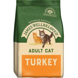 James Wellbeloved Cat Food Adult Turkey and Rice