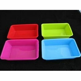 Zeal Pack of 4 Mini Silicone  Loaf Pans