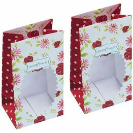 Sweetly Does It Floral Treat Bag pack of 2
