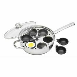 Clearview Six Hole Egg Poacher 28cm