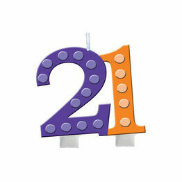Numeral Candle 21st Birthday PC102112