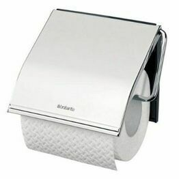 Brabantia Toilet Roll Holder Bright Steel 414589