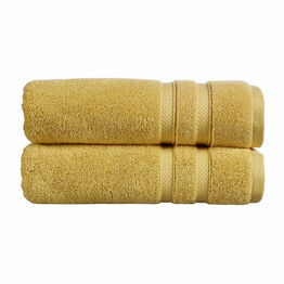 Christy Chroma Towels Ochre