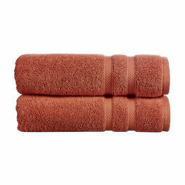 Christy Chroma Towels Cayenne