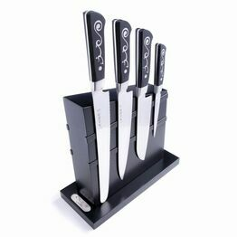 I.O Shen Knife Block Set & 4 knives & FREE Sharpener