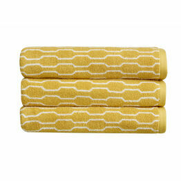 Christy Lumo Jacquard Towels Ochre