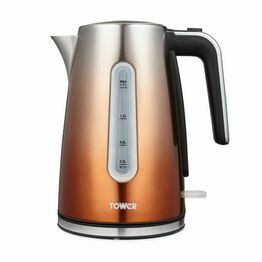 Tower Infinity Ombre 3KW 1.7L Open Handle Kettle Copper