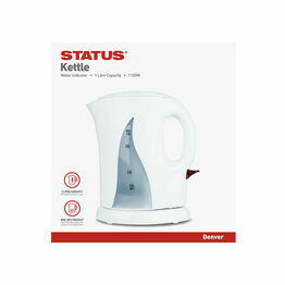 Status Denver White Kettle 1.0ltr