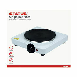 Status Kansas Single Hot Plate 1500w