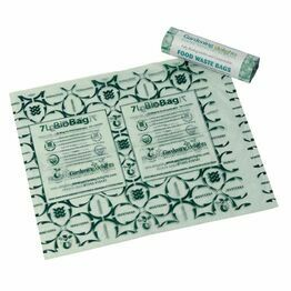 Compostable & Biodegradable Liners Bags 07Ltr
