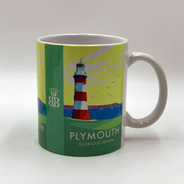 Becky Bettesworth Design Plymouth Hoe Mug