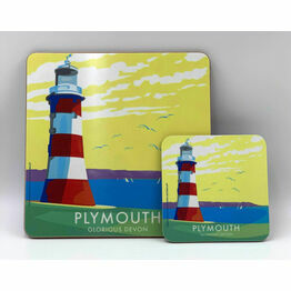 Becky Bettesworth Design Plymouth Hoe Coaster