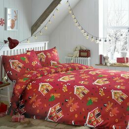 Bedlam Duvet Cover Set Gingerbread