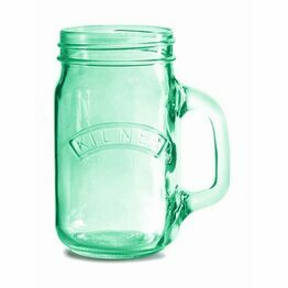 Kilner Handled Drinking Jar Green 500ml