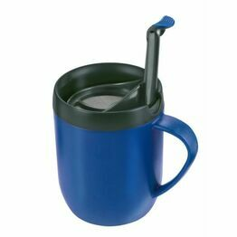 Zyliss One Cup Cafetiere Hot Mug Blue