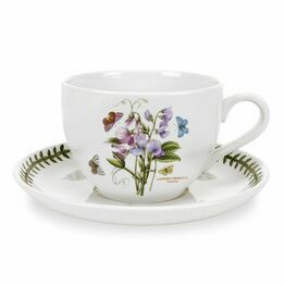 Portmeirion Pottery Seconds Botanic Garden Tea Cup & Saucer