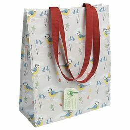 Recycled Shopping Bag Blue Tits Design 25641