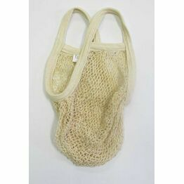 Boulevard Recycled Cotton String Bag Short Handle
