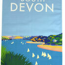 Glorious South Devon 100% Premium Cotton Tea Towel additional 1