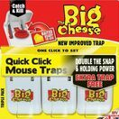 STV Big Cheese Quick Click Mouse Traps Triple Pack STV147 additional 2