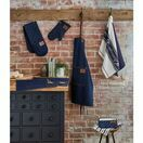 Oven Glove Oxford Denim Blue additional 4