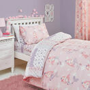 Bedlam Duvet Cover Set Mermaid Pink Single Bed additional 2