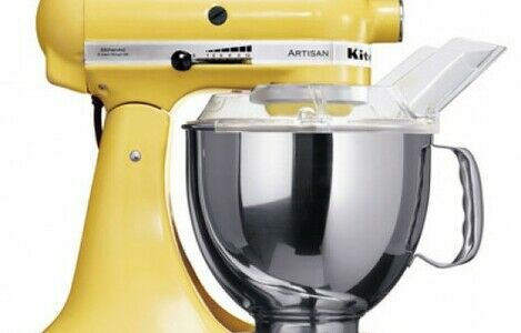 KitchenAid Artisan 4.8L Stand Mixer Majestic Yellow