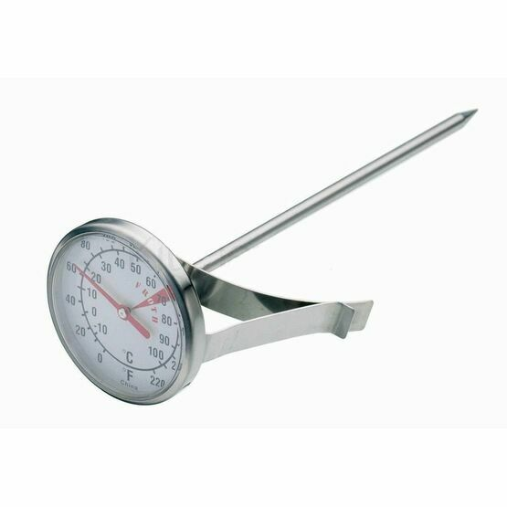 Kitchen Craft Stainless Steel Milk Frothing Thermometer