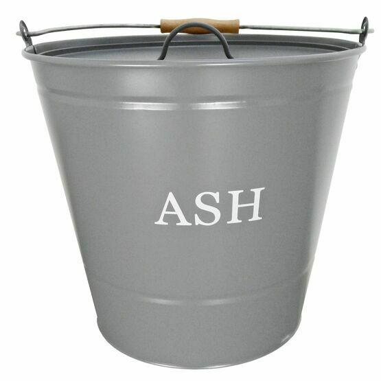 Manor Ash Bucket with Lid