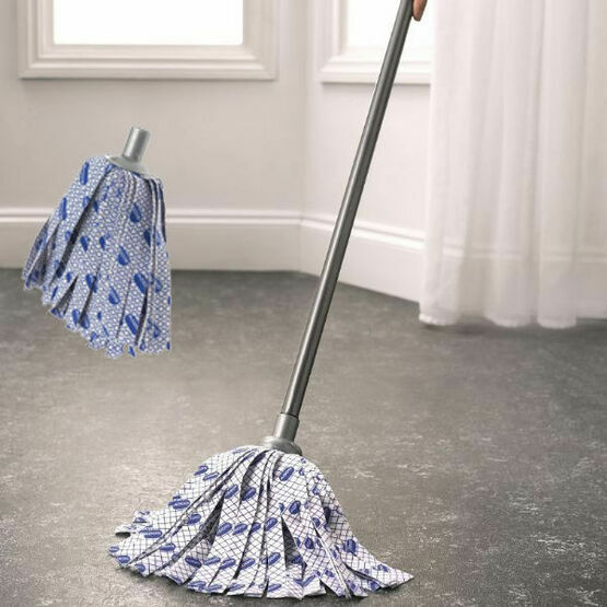 Addis Cloth Mop with FREE Refill