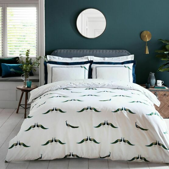 Sophie Allport Bedding Peacock Duvet Cover Set
