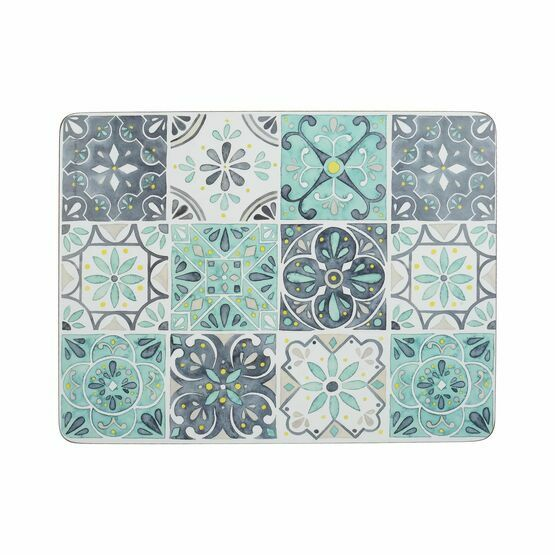 Creative Tops Green Tile Pack of 6 Tablemats or Coasters