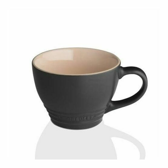 Le Creuset Satin Black Grand Mug 400ml