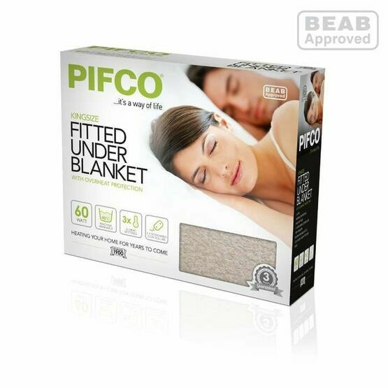 Pifco Fitted Underblanket Kingsize Bed P49002