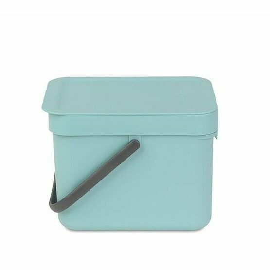 Brabantia Sort and Go Recycling Waste Bin 6ltr Mint Green