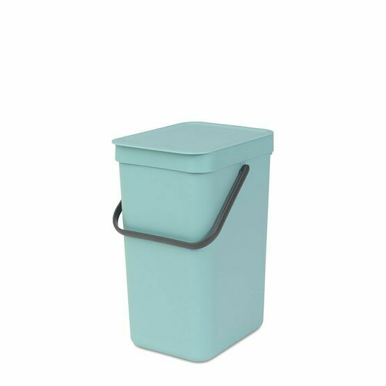 Brabantia Sort and Go Recycling Waste Bin 12ltr Mint Green