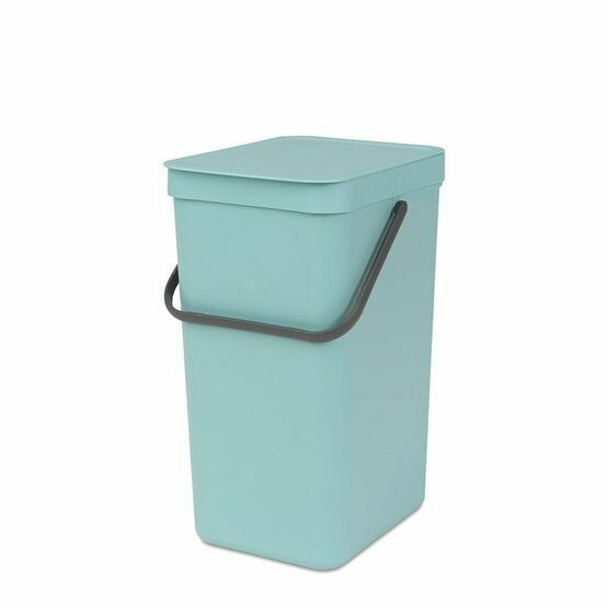 Brabantia Sort and Go Recycling Waste Bin 16ltr Mint Green