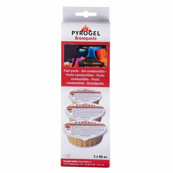 Pyrogel Fondue Fuel Paste Pack of 3