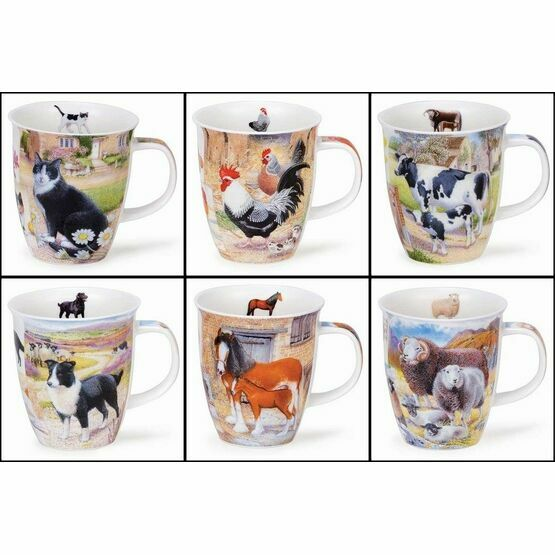 Dunoon Nevis Mug - Country Life Assorted