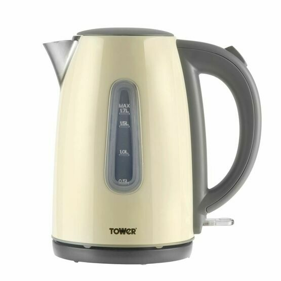 Tower Jug Kettle 1.7ltr Cream T10015C