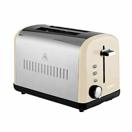 Tower Toaster 2 Slice Cream T20014C