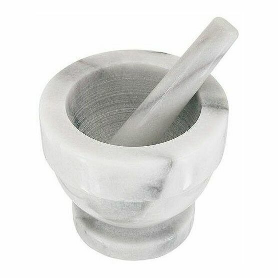 Marble Pestle & Mortar Small H356