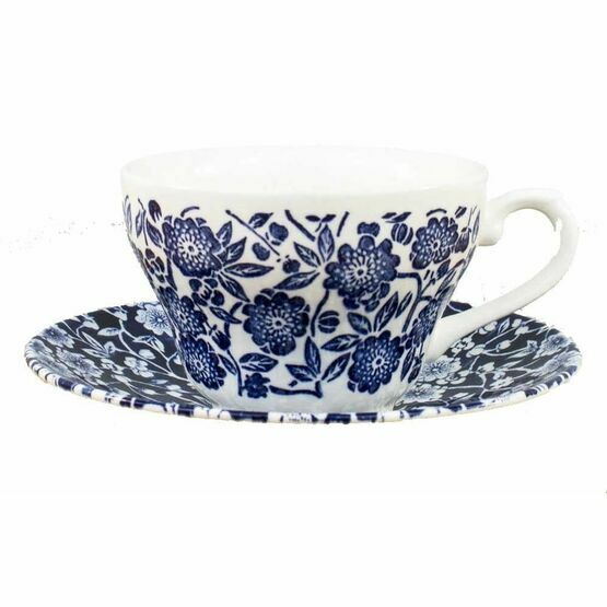 Churchill Victorian Calico Tea Cup & Saucer
