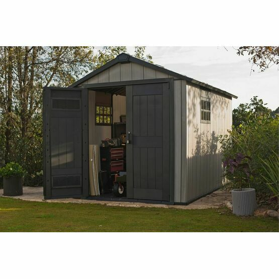 Keter Oakland 7511 Outdoor Plastic Shed 17201421