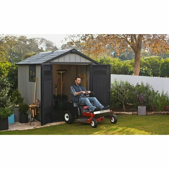 Keter Oakland 759 Outdoor Plastic Shed 17201311