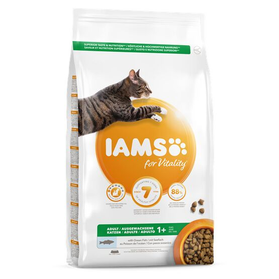 Iams Vitality Adult Cat Food Ocean Fish