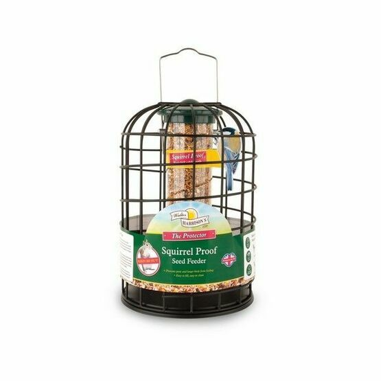Walter Harrisons Squirrel Proof Seed Feeder 20cm