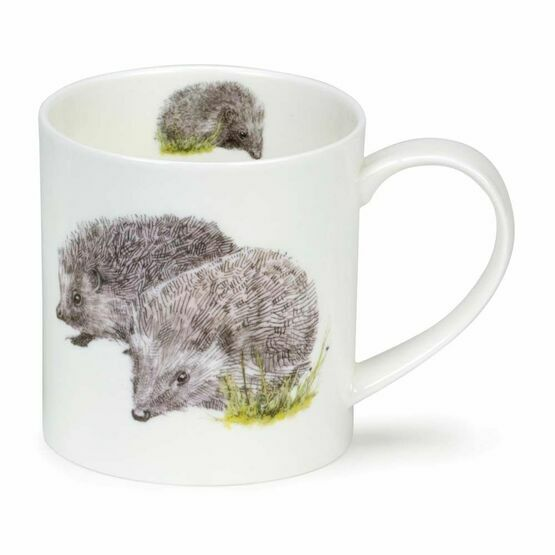 Dunoon Orkney Fine Bone China Mug - Longmuir Hedgehog