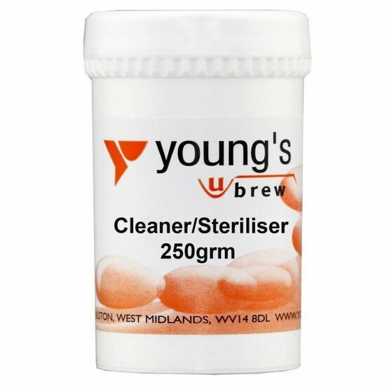 Youngs Cleaner Steriliser 250grm