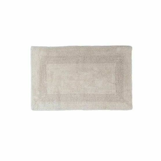 Deyong Bliss Reversible Combed Bath Mats - Biscuit